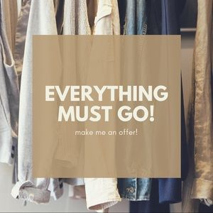 🚨🚨HUGE SALE🚨🚨 everything must go!